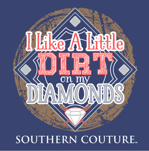 southern couture. dirt on my diamonds