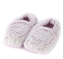 Load image into Gallery viewer, Warmies Lavender Plush Slippers & Boots