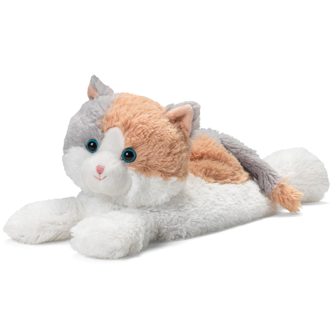 Calico Cat Warmies Lavender Plush