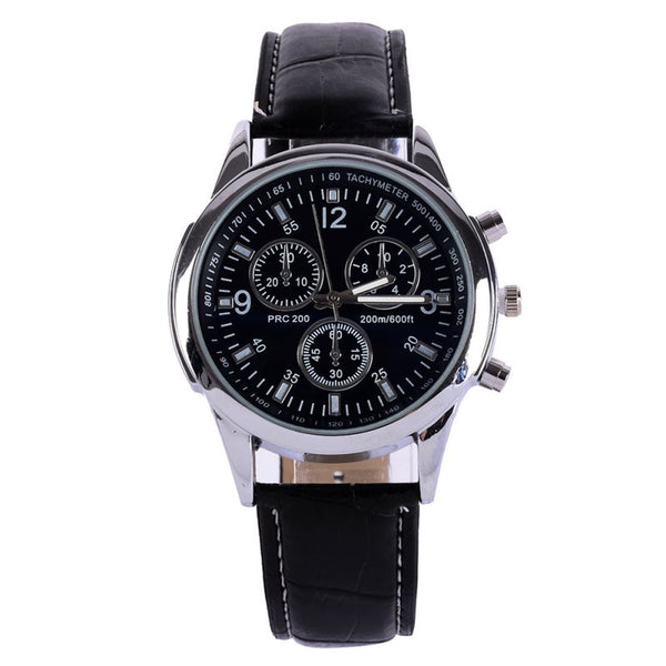 Sport Men Stainless Steel Case Wrist Watch