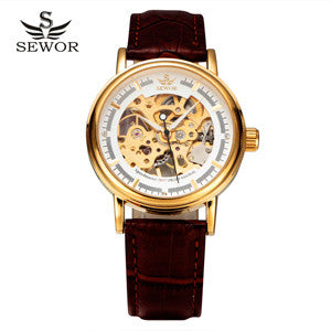 Elegant Skeleton Watch