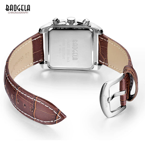 Genuine Leather Men's Watch
