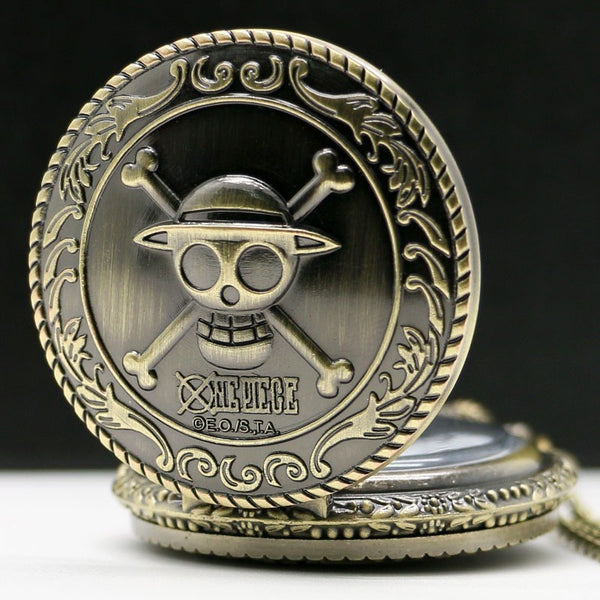 Steampunk Skull Pocket Watch
