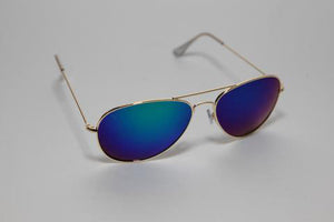 Pau Rio Aviator - Green Mirror Sunglasses