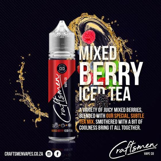 Mixed Berry Iced Tea By Craftsmen (60ml)