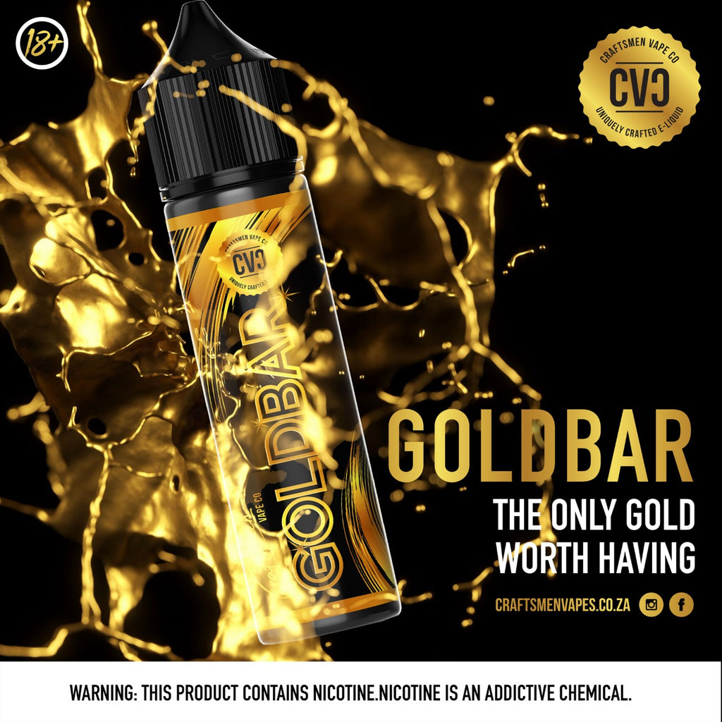 Craftsmen GoldBar 120ML (3MG)