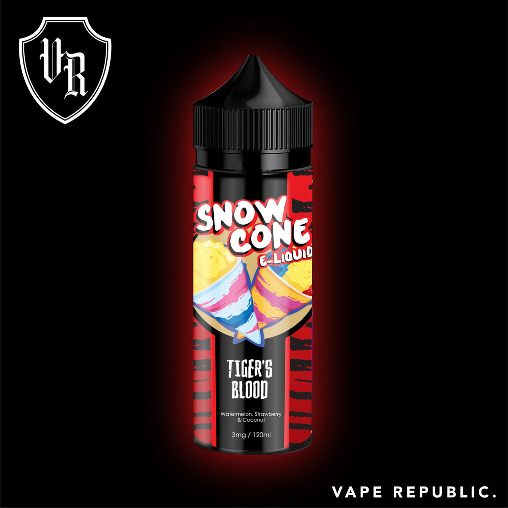 SnowCone Tigers Blood NicSalts (25mg)