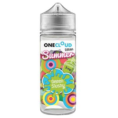 One Cloud Green Slushy 3mg (120ml)