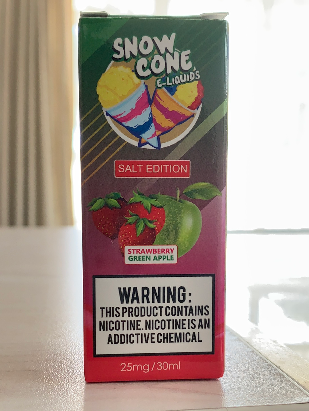 SnowCone Strawberry Green Apple 50mg (30ml)