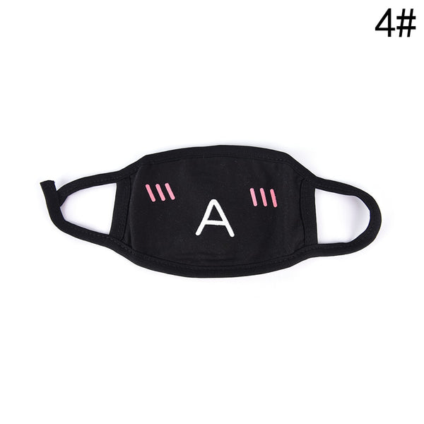 1PC Cotton Dustproof Mouth Face Mask Unisex Korean Style Kpop Black Bear Cycling Anti-Dust Cotton Facial Protective Cover Masks - Stardust Hut
