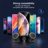 Briame TWS Bluetooth V5.0 Earphones Wireless Bluetooth Headphone 3D Stereo Sports Wireless Earphones Bluetooth for Smartphone - Stardust Hut