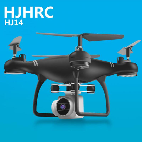 Dropship HJ14W RC Drone With 4K/1080P HD Camera Optical Flow Positioning WIFI FPV Foldable Quadcopter Helicopter Drone Follow Me