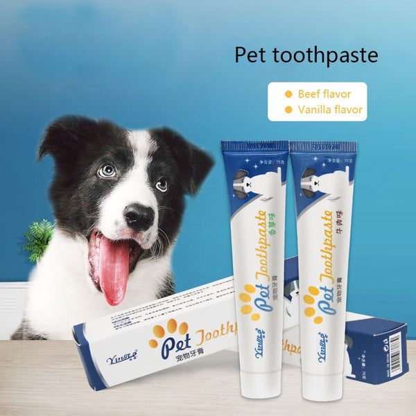 Pet Dog Toothbrush Chew Toy Doggy Brush Stick Soft Rubber Teeth Cleaning Dot Massage Toothpaste for Small dogs Pets Toothbrushes - Stardust Hut