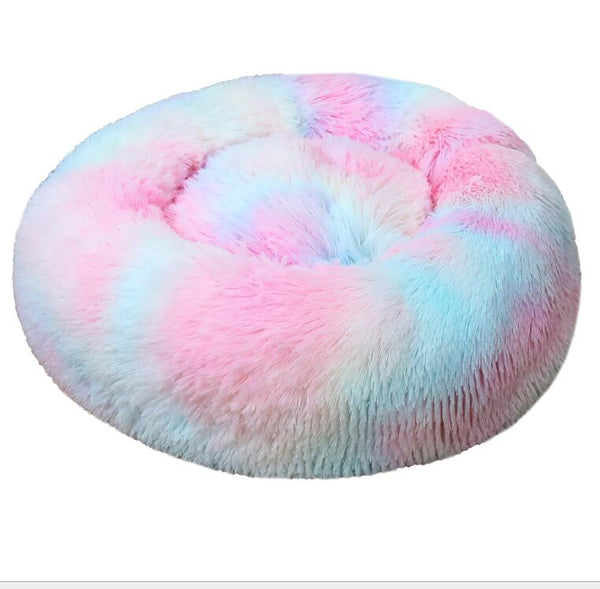 Pet Dog Bed Long Plush Super Soft Pet Bed Kennel Round Dog House Cat Bed For Dogs Bed Chihuahua Big Large Mat Bench Pet Supplies - Stardust Hut