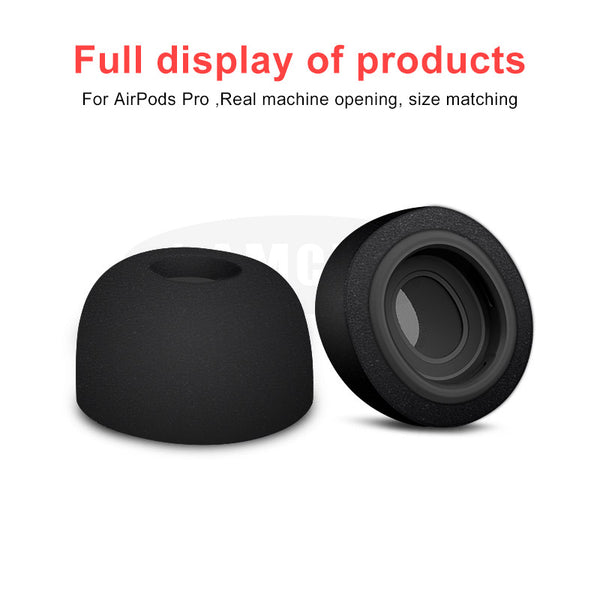 Sponge Silicone Memory Foam Ear Tips For AirPods Pro Replacement Earpads For Apple AirPods Pro Bluetooth Earphone Accessories - Stardust Hut