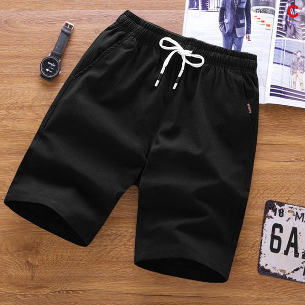 2020 Summer Men's shorts Casual Loose Cropped Trousers Sports Shorts Loose Knit Straight Casual Pants Cotton Short Pants New 4XL - Stardust Hut