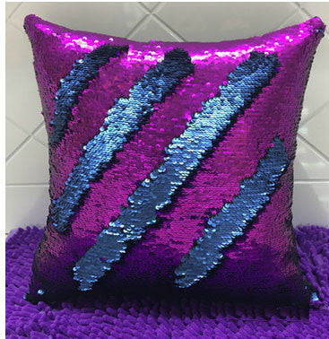 Ariel Sequin Cushion Cover - Stardust Hut