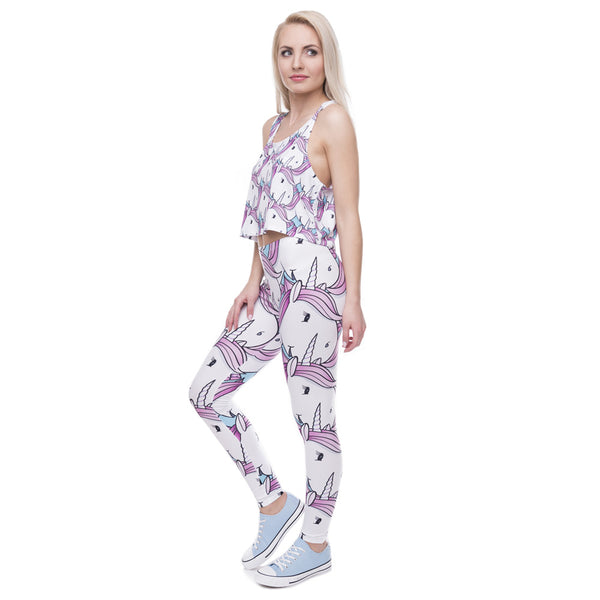 """Buttercup"" Unicorn Leggings"
