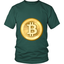Bitcoin T-Shirt - Official Bitcoin Logo - Shirts to show your support for Bitcoins, Ethereum or your favorite Cryptocurrency.