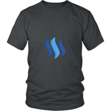 Steem T-Shirt - Official Steemit Logo - Shirts to show your support for Bitcoin, Ethereum, Monero, Steem or your favorite Cryptocurrency.