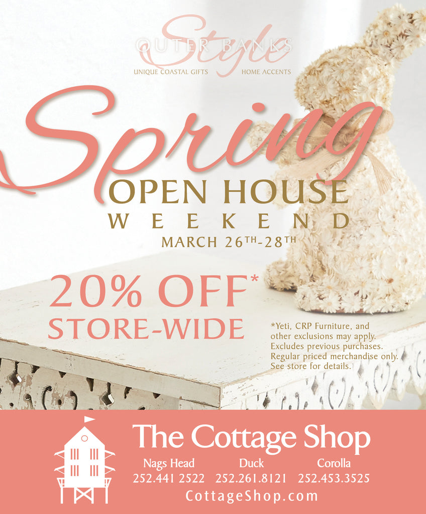 Spring Open House Weekend - March 26th - 28th
