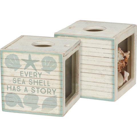 Every Sea Shell Has A Story - Shell Holder