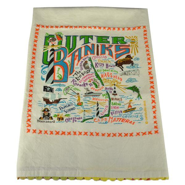 Outer Banks Dish Towel