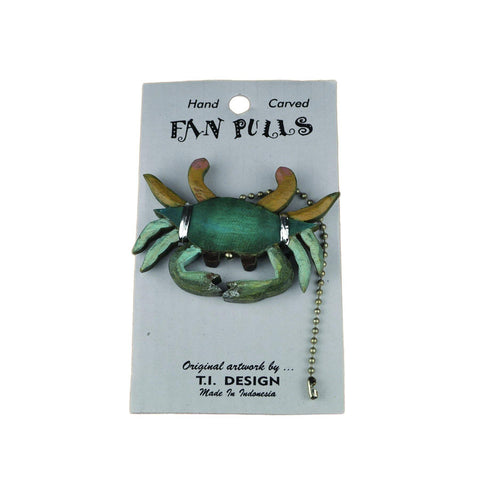 Blue Crab - Fan Pull