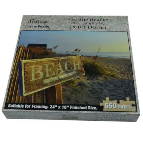 To The Beach - Jigsaw Puzzle