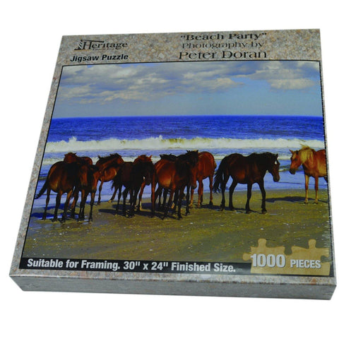 Beach Party - Jigsaw Puzzle