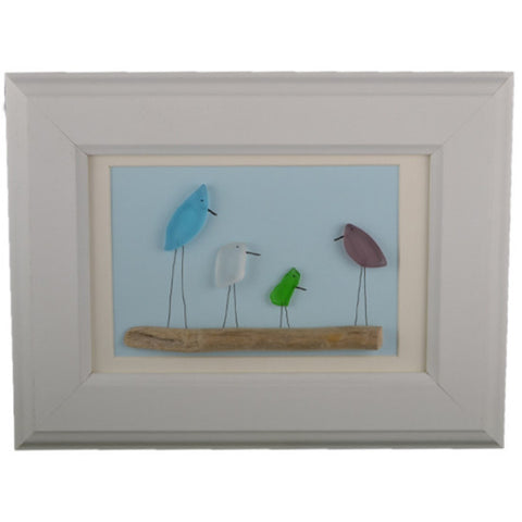 Seaglass Shorebirds #13