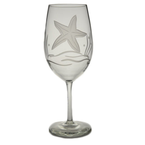 Starfish Wine Glass 18oz