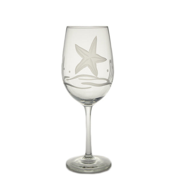 Starfish Wine Glass 12oz