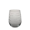 School of Fish Stemless Wine Glass 17oz
