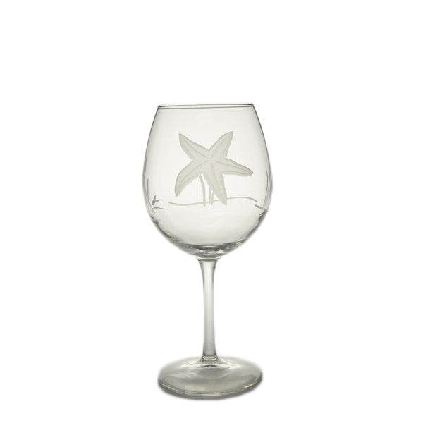 Starfish Balloon Wine Glass 18oz