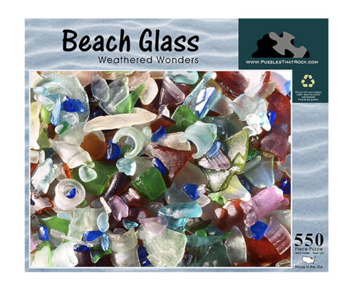 Beach Glass - Jigsaw Puzzle