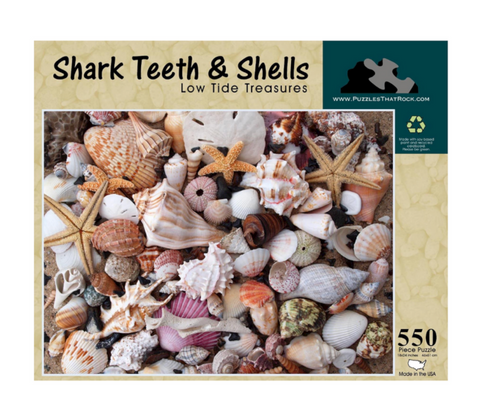Shark Teeth & Shells - Jigsaw Puzzle