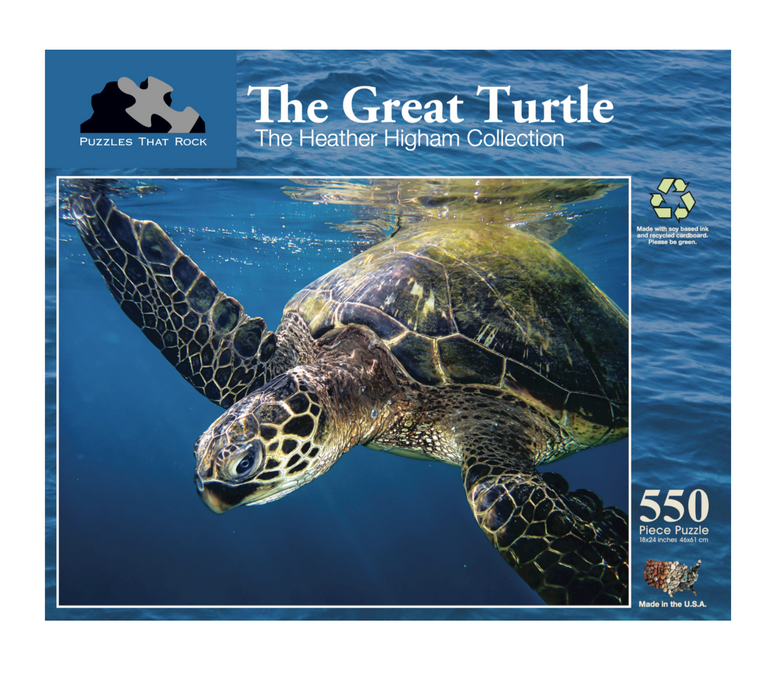 The Great Turtle - Jigsaw Puzzle