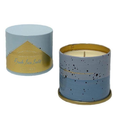 Fresh Sea Salt Tin Candle