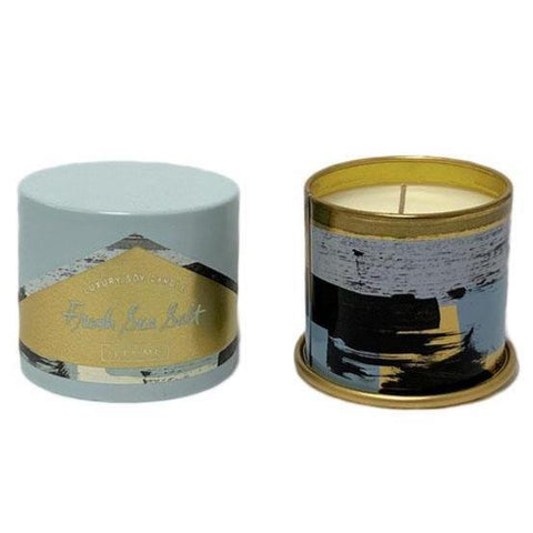 Fresh Sea Salt Tin Candle - Small