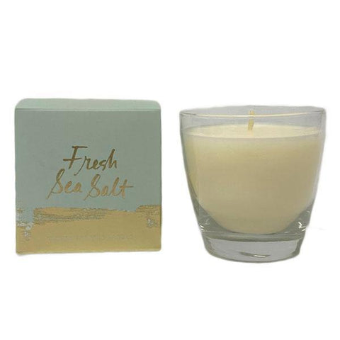 Fresh Sea Salt Boxed Glass Candle