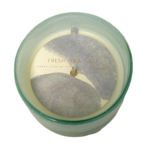 Fresh Sea Salt Medium Mojave Glass Candle