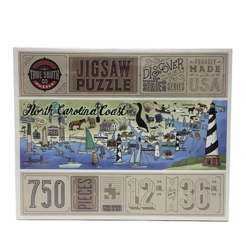 North Carolina Coast - Jigsaw Puzzle