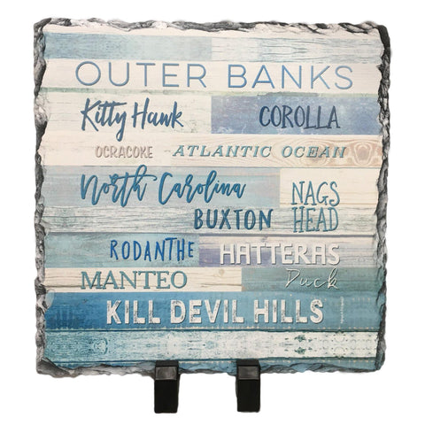 Outer Banks Slate Trivet - Light