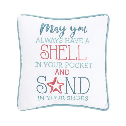 Shell In Your Pocket - Pillow