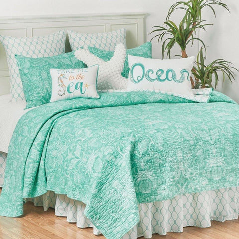 Turquoise Bay Quilt Set