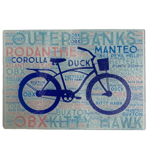 Outer Banks Cutting Board - Bicycle