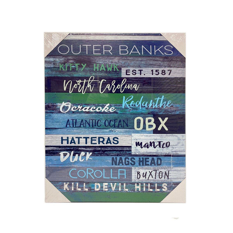 Outer Banks Canvas - Dark Blue - Small
