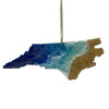 Resin Art Ornaments - NC State Shape