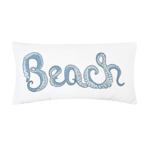 Octopus Beach - Pillow